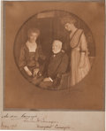 Autographs:Inventors, Andrew Carnegie Photograph Signed....