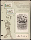 Baseball Collectibles:Others, Fred Clarke Signed Cut Signature....