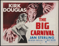 "Ace In The Hole (Paramount, 1951). Half Sheet (22"" X 28"") Style B. Film Noir. Alternate Title: The Big Carniva..."