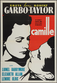 "Camille (MGM, 1937). Leader Press One Sheet (27"" X 41""). Drama"