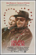 """Movie Posters:Comedy, Prizzi's Honor (20th Century Fox, 1985). One Sheets (4) (27"""" X 41""""). Comedy.. ... (Total: 4 Items)"""