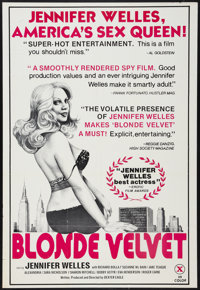 """Blonde Velvet & Other Lot (Unknown, 1976). One Sheets (3) (27"""" X 41"""" & 25"""" X 38"""" ). Adult..."""
