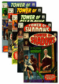 Silver Age (1956-1969):Horror, Tower of Shadows Group (Marvel, 1969-70) Condition: AverageVF/NM.... (Total: 5 Comic Books)