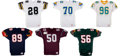 Football Collectibles:Uniforms, NFL Europe and World League Game Worn Jerseys Lot of 6....
