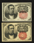 Fractional Currency:Fifth Issue, Fr. 1265 10¢ Fifth Issue About New.. Fr. 1266 10¢ Fifth Issue AboutNew.. ... (Total: 2 notes)