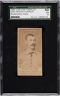 Baseball Cards:Singles (Pre-1930), 1888 N403 Yum Yum Tobacco Roger Connor, Redemption Back SGC 60 EX5....