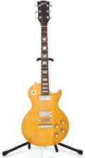 Musical Instruments:Electric Guitars, 1973 Gibson Les Paul Deluxe Refinished Solid Body Electric Guitar#108895...