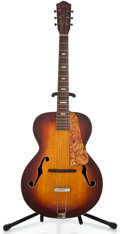 Musical Instruments:Acoustic Guitars, 1940's National Sunburst Archtop Acoustic Guitar ...