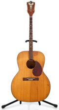 Musical Instruments:Acoustic Guitars, 1960's Kay Tenor Natural Acoustic Tenor Guitar #L9938...
