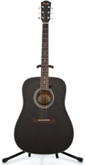 Musical Instruments:Acoustic Guitars, Recent Fender DG-11 Black Acoustic Guitar #98103910...