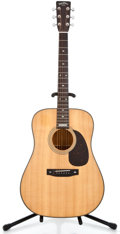 Musical Instruments:Acoustic Guitars, 1981 Sigma Martin Anniversary Natural Acoustic Guitar #S16095...
