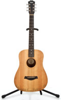 Musical Instruments:Acoustic Guitars, 1998 Taylor Baby Natural Acoustic Guitar #980319301-2...