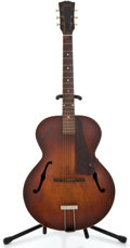 Musical Instruments:Acoustic Guitars, 1940's Gibson L-50 Sunburst Archtop Acoustic Guitar ...