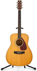 Musical Instruments:Acoustic Guitars, 1970's Yamaha FG-360 Natural Acoustic Guitar #40419...