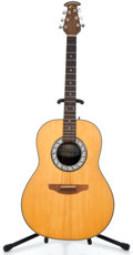 Musical Instruments:Acoustic Guitars, Recent Ovation 1139 Natural Acoustic Guitar #274265...