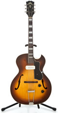 Musical Instruments:Electric Guitars, 1955 Guild CE100 Sunburst Archtop Electric Guitar #2966...