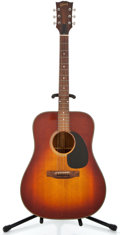 Musical Instruments:Acoustic Guitars, 1974 Gibson J-45D Sunburst Acoustic Guitar #628732...