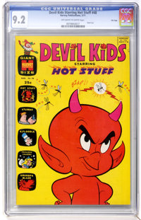 Devil Kids #48 File Copy (Harvey, 1971) CGC NM- 9.2 Off-white to white pages