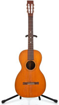 Musical Instruments:Acoustic Guitars, 1900's Parlor Brazilian Natural Acoustic Guitar #4598...
