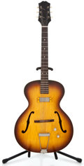 Musical Instruments:Electric Guitars, 1960 Epiphone Century Sunburst Semi-Hollow Body Electric Guitar#A-2185...