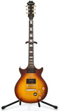 Musical Instruments:Electric Guitars, 1980's Epiphone Genesis Project Sunburst Solid Body Electric Guitar#0290669...