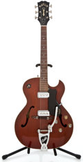 Musical Instruments:Electric Guitars, 1961 Guild Starfire III Mahogany Semi-Hollow Body Electric Guitar#17943...