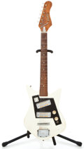 Musical Instruments:Electric Guitars, 1960's Norma Japan White Solid Body Electric Guitar...