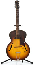 Musical Instruments:Electric Guitars, 1957 Gibson EPS 125 Sunburst Archtop Electric Guitar #U278712...