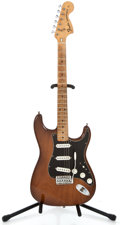Musical Instruments:Electric Guitars, 1974 Fender Stratocaster Moca Solid Body Electric Guitar #555329...