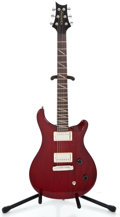 Musical Instruments:Electric Guitars, Recent Paul Reed Smith Santana SE Red Mahogany Solid Body ElectricGuitar #B09244...