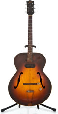Musical Instruments:Electric Guitars, 1940's Gibson ES 125 Sunburst Archtop Electric Guitar ...