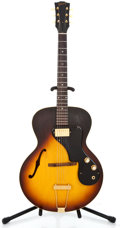 Musical Instruments:Electric Guitars, 1965 Gibson ES 120T Sunburst Semi-Hollow Body Electric Guitar#269250...