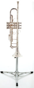 Musical Instruments:Horns & Wind Instruments, 1970's King 2007 Silver Trumpet #783328...