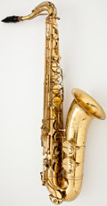 Musical Instruments:Horns & Wind Instruments, 1940's King Marigaux Brass Tenor Saxophone #26644...