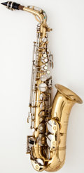 Musical Instruments:Horns & Wind Instruments, 1950's F. E. Olds Parisian Brass Alto Saxophone...