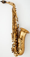 Musical Instruments:Horns & Wind Instruments, 1967 Buffet Super Dynaction Brass Alto Saxophone #13886...