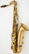 Musical Instruments:Horns & Wind Instruments, 1950 Conn Naked Lady Brass Tenor Saxophone #333926...