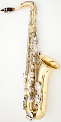 Musical Instruments:Horns & Wind Instruments, Selmer 1244 Brass Tenor Saxophone #1333783...