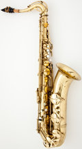 Musical Instruments:Horns & Wind Instruments, Couesnon Monopole Conservatoire Brass Tenor Saxophone #5085...