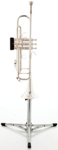 Musical Instruments:Horns & Wind Instruments, Recent Bach Stradivarius 37 Silver Trumpet #651028...