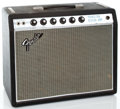 Musical Instruments:Amplifiers, PA, & Effects, 1968 Fender Princeton Reverb Amp Black Guitar Amplifier #A20187...