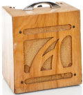 Musical Instruments:Amplifiers, PA, & Effects, 1950's Alamo Amp 2 Natural Guitar Amplifier #556...