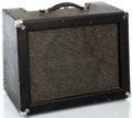 Musical Instruments:Amplifiers, PA, & Effects, 1960's Ampeg J-12 Jet Black Guitar Amplifier #072215...