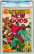 Bronze Age (1970-1979):Science Fiction, The New Gods #10 Twin Cities pedigree (DC, 1972) CGC NM/MT 9.8 White pages....