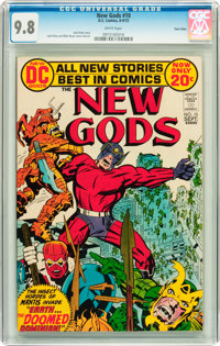 The New Gods #10 Twin Cities pedigree (DC, 1972) CGC NM/MT 9.8 White pages