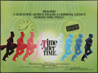 "Time After Time (Warner Brothers, 1979). British Quad (30"" X 40""), Japanese B2 (20"" X 28.5""), and Be..."