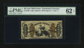Fractional Currency:Third Issue, Fr. 1363 50¢ Third Issue Justice PMG Uncirculated 62 EPQ.. ...
