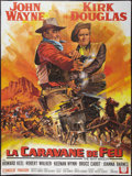 "Movie Posters:Western, The War Wagon (Universal, 1967). French Grande (47"" X 63""). Western.. ..."