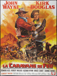 "The War Wagon (Universal, 1967). French Grande (47"" X 63""). Western"