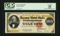 Large Size:Gold Certificates, Fr. 1215 $100 1922 Gold Certificate PCGS Apparent Very Fine 30.....